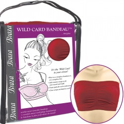 Wildcard Bandeau Red