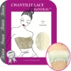 Chantilly Lace Bandeau, Ivory