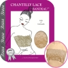 Chantilly Lace Bandeau, Taupe