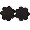 Silicone Reusable Petal Tops - Black Pleather