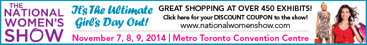 The National Women's Show Toronto - November 7-9, 2014 at the Metro Toronto Convention Centre